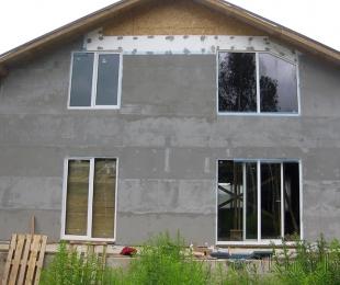 Пластиковые окна в частном доме. Брест. №3