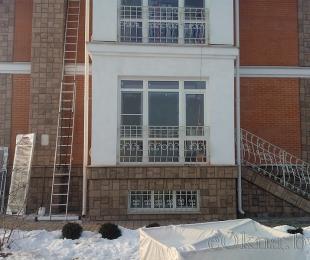 Пластиковые окна в частном доме. Брест. №6