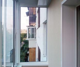 Балконная рама из алюминия. Брест. №3
