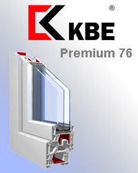 Оконный профиль KBE premium 76