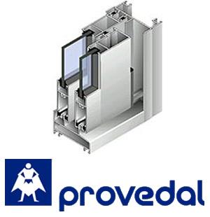Балконные рамы из алюминиевого профиля Providal